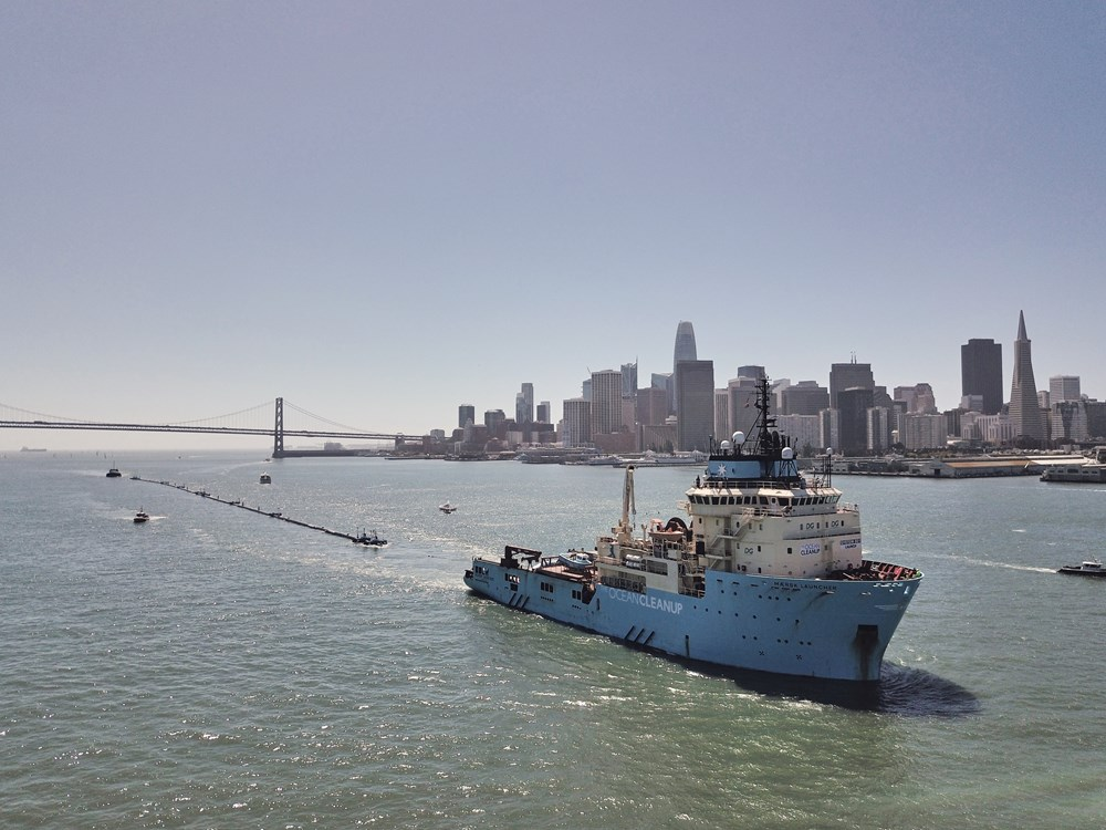 The Ocean Cleanup doneren