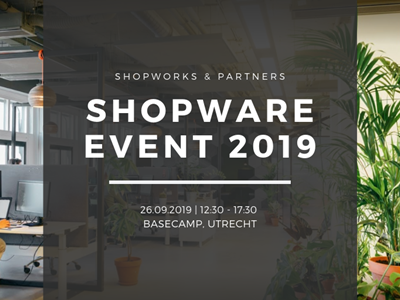 Shopware Event 26 sept 2019